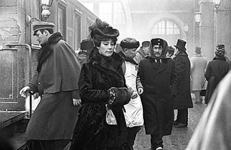 Кадр из фильма «Анна Каренина» 1976 года.