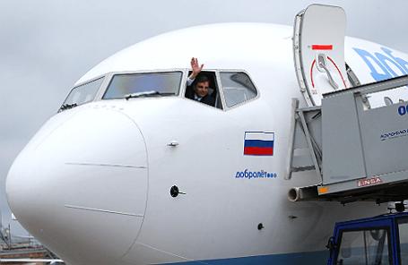 Самолет авиакомпании «Добролет».