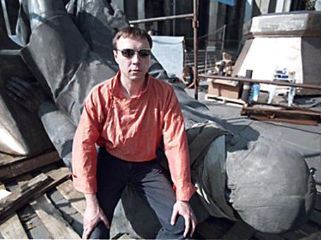 Писатель Виктор Пелевин, 1999 год.