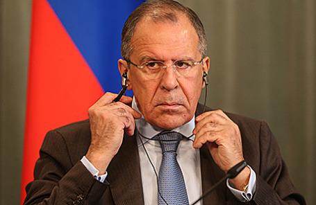 Министр иностранных дел РФ Сергей Лавров.