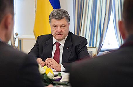 Президент Украины Петр Порошенко.