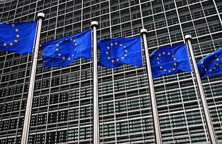 Здание штаб-квартиры Европейской комиссии в Брюсселе.