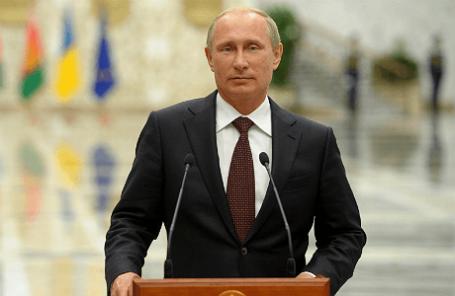 Президент РФ Владимир Путин.