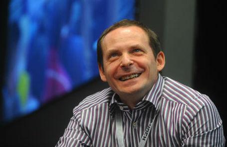 Сооснователь компании «Яндекс» Аркадий Волож.