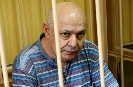 Прапорщик Валерий Даниелян, обвиняемый в мошенничестве с квартирами.