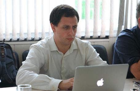 Марк Шмулевич на заседании наблюдательного совета НГУ.