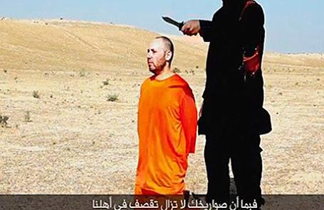 Казнь американского журналиста Стивена Сотлоффа членом террористической группировки «Исламское государство»