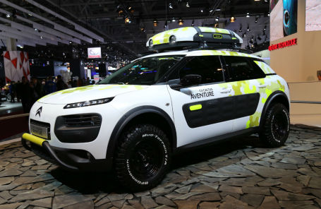 Citroen C4 Cactus Adventure