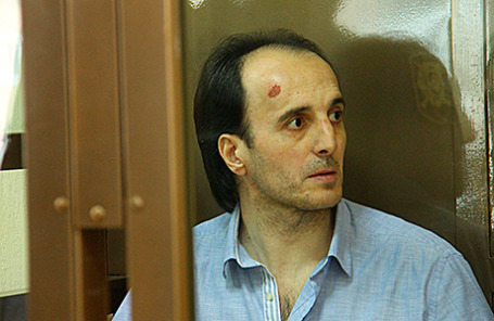 Юсуп Темерханов, обвиняемый в убийстве бывшего полковника Юрия Буданова.