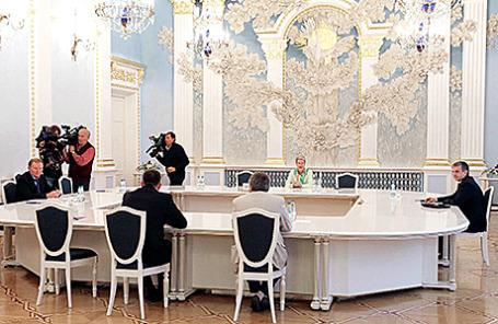 Заседание контактной группы по Украине в Минске.