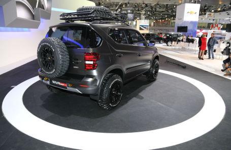 Прототип Chevrolet Niva. Признал лучшим концепт-каром Московского автосалона.