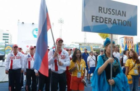 Сборная МЧС РФ на 10 Чемпионате мира по пожарно-спасательному спорту в Казахстане