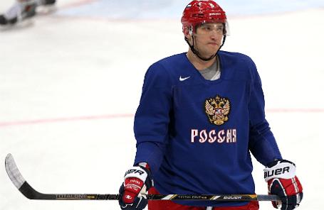 Хоккеист Александр Овечкин.