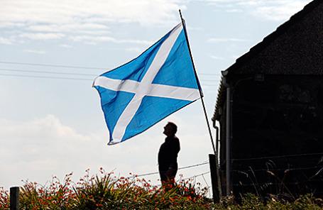 Флаг Шотландии.