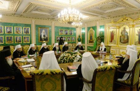 Заседание священного синода РПЦ 25 июля 2014 года