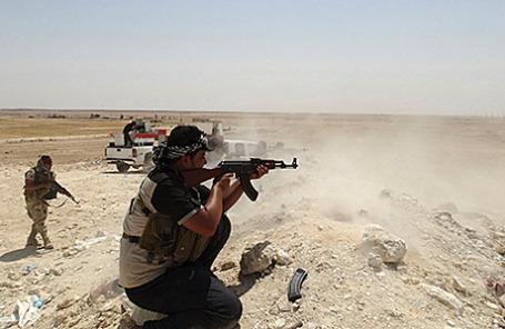 Патруль по борьбе с  террористами из группировки «Исламское государство Ирака и Леванта».