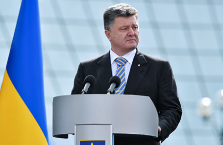 Избранный президент Украины Петр Порошенко.