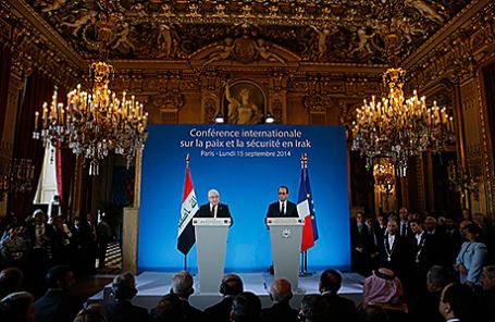 Конференция по миру и безопасности в Ираке. Париж, Франция, 15 сентября 2014.