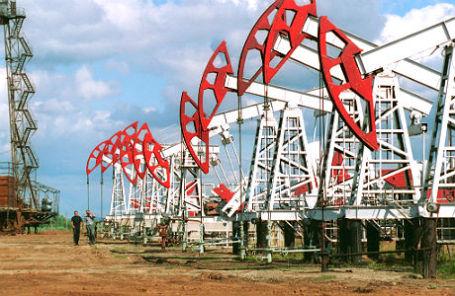 Нефтяные скважины АНК «Башнефть», расположенные на территории Удмуртии.