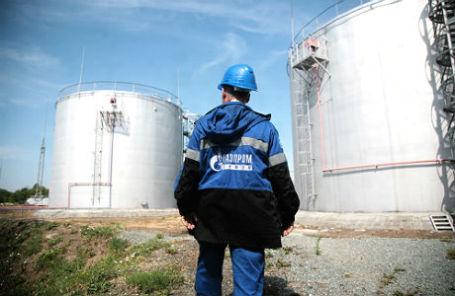 Новосибирская нефтебаза компании «Газпромнефть».