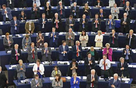 Заседание Европарламента.