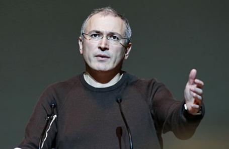 Экс-руководитель «ЮКОСа» Михаил Ходорковский.