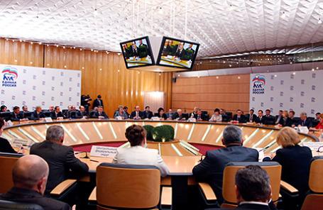 На заседании Высшего совета партии «Единая Россия».