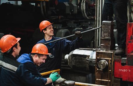 Челябинский металлургический комбинат.