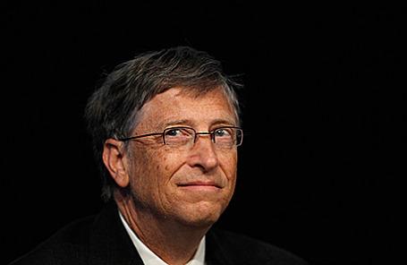 Основатель компании Microsoft Билл Гейтс.