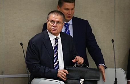 Министр экономического развития РФ Алексей Улюкаев в Госдуме.