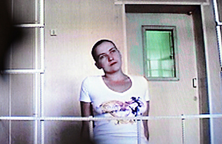 Украинская военнослужащая Надежда Савченко.