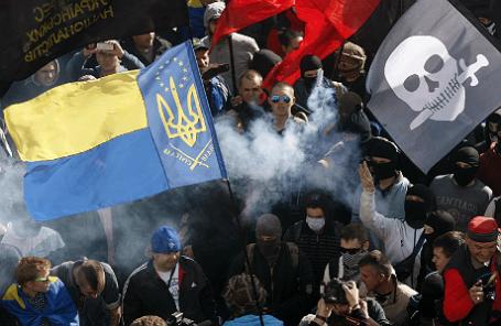 Акция протеста у Верховной Рады