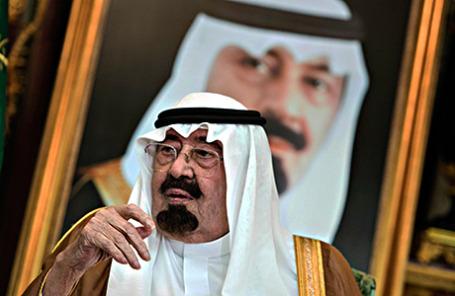 Король Саудовской Аравии Абдалла аль Сауд.