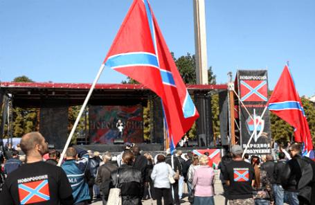 Мероприятия, посвященные празднованию первого полугодичного юбилея со дня провозглашения ДНР.