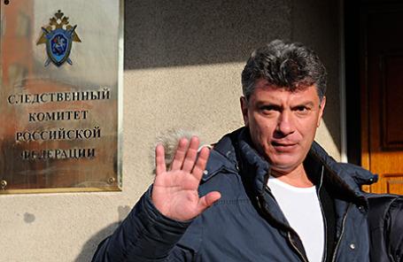 Сопредседатель Партии Народной Свободы (ПАРНАС) Борис Немцов.