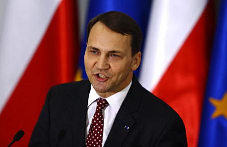 Спикер парламента Польши Радослав Сикорский