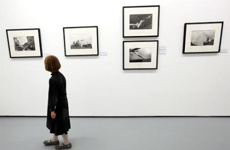 На пресс-показе выставок, открывающих новый сезон в Мультимедиа Арт Музее.