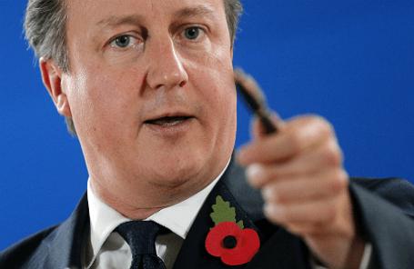 Британский премьер Дэвид Кэмерон