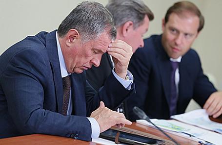 Президент государственной нефтяной компании «Роснефть» Игорь Сечин.