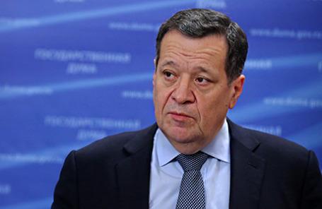 Председатель комитета Госдумы РФ по бюджету и налогам Андрей Макаров.