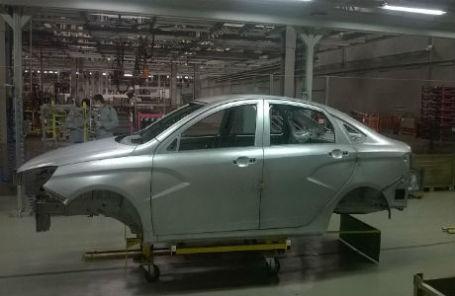 Первый кузов Lada Vesta