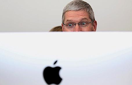 Генеральный директор Apple Тим Кук.