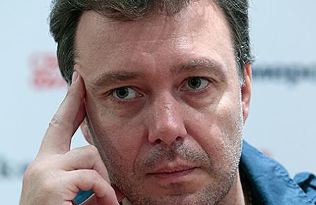 Бывший главный редактор газеты «Коммерсантъ» Михаил Михайлин.