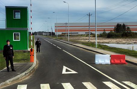 Индустриальный парк «Марьино».