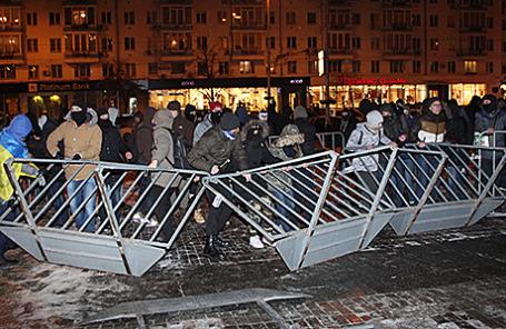 Акция протеста против концерта Ани Лорак в Киеве, Украина, 26 ноября 2014.