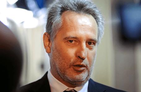 Украинский предприниматель Дмитрий Фирташ.