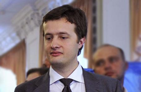 Сын президента Украины Петра Порошенко Алексей Порошенко.
