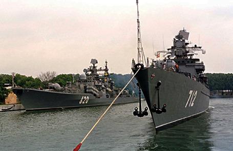 Город Балтийск - военно-морская база Балтийского Флота.