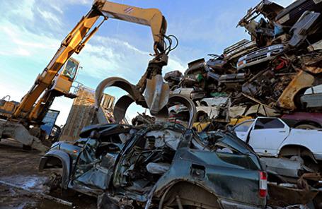 Полигон утилизации вышедших из эксплуатации транспортных средств.