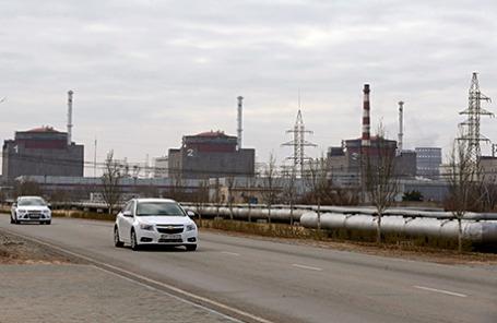 Запорожская атомная электростанция в городе Энергодар.